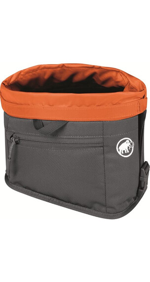 Mammut Boulder Chalk Bag Smoke-Orange